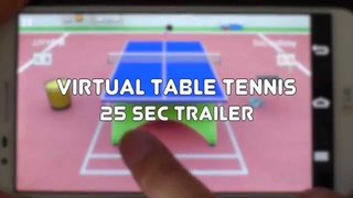 Virtual Table Tennis for Android 25 sec trailer