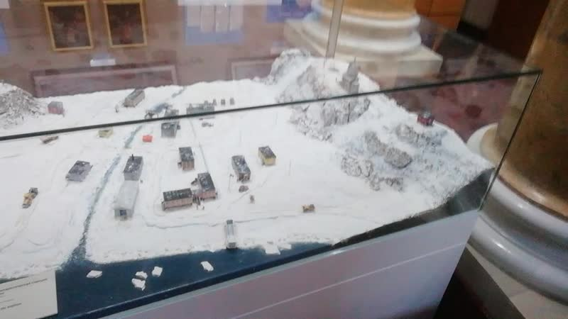🕍музей Антарктики 🧭Секстант двигатель обогрева