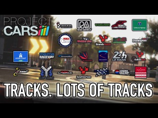 Project CARS - Location Overview (Track. Lots of Tracks trailer)