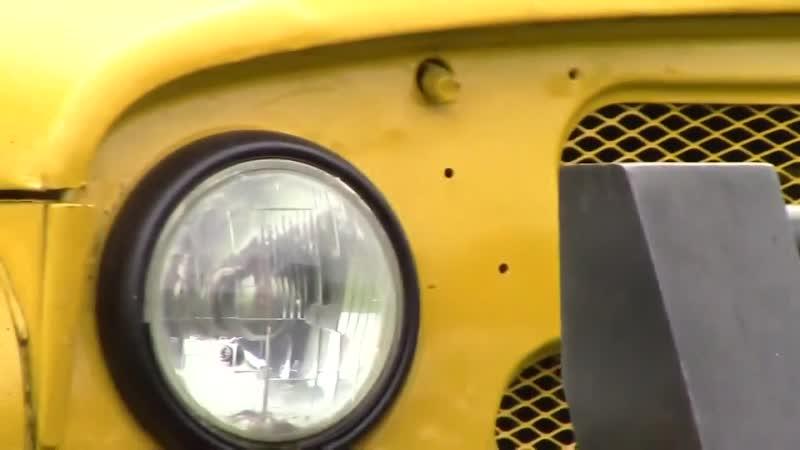 УАЗ МАЛЫШ переросток монстр шасси ГАЗ 66 двигатель scania