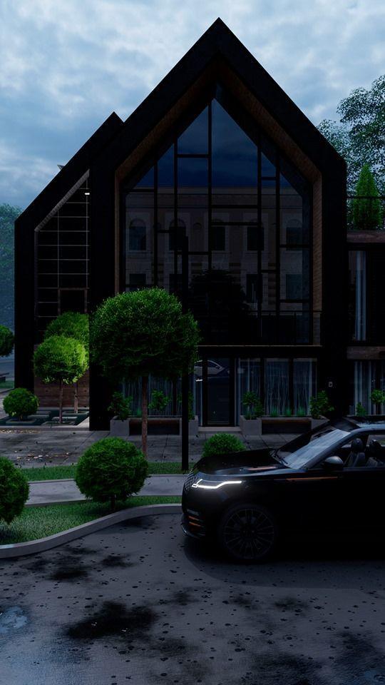 Смелое Архитектурное предложение частного дома в центральной части города Одессы