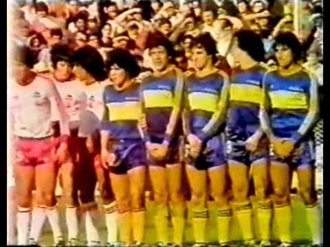 Boca Juniors Huracan Torneo Metropolitano Año 1981