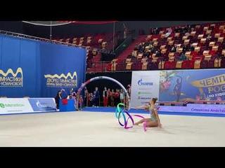 Anastasia Simakova - Ribbon Russian Championship 2021 TAA