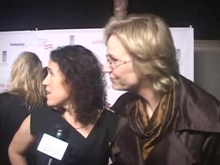 2011-01-19 - Private Elton John Concert - TraipsingThruFilms - Jane Lynch says There's Adam Lambert, ooh, he's beautiful