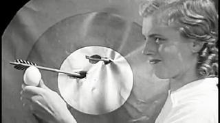Archery Stunts,  Bow & Arrow Tricks 1938 Chevrolet Leader News Newsreel