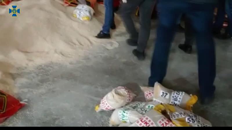 Во Львове в пачках с рисом нашли тонну героина