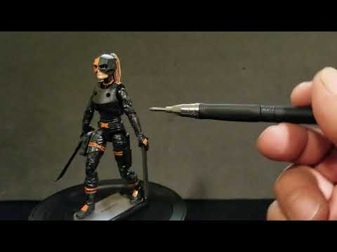 Summer Glau as the Ravager influenced custom action figure made from Marauders Valkyries