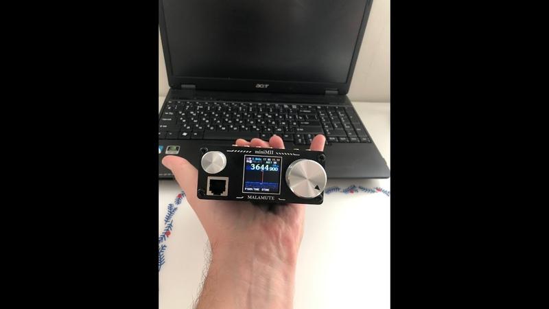 Карманный трансивер Malamute MII mini от деталей до QSO