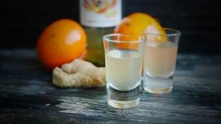 Крепкая наливка (настойка) из хурмы с имбирем - рецепт на водке
