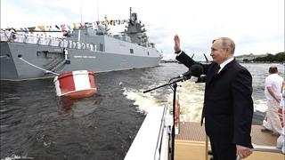 Путин рассказал о новейшем вооружении флота
