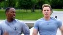 On Your Left Steve Rogers Sam Wilson - Running Scene - Captain America: The Winter Soldier