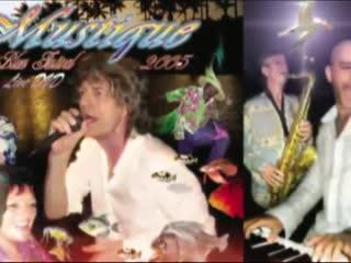 MUSTIQUE BLUES FESTIVAL 2005 (Dana Gillespie Mick Jagger Felix Dennis) )