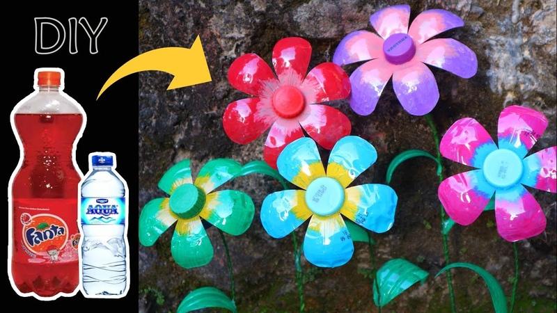 Kreasi dari BOTOL BEKAS ! Ide Kreatif Botol fanta Aqua | Bottle Craft Ideas | Best out of waste