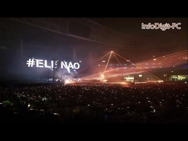 Pink Floyd em show no Brasil DETONA com Bolsonaro - Com EleNão ComElesNão InfoDigit-PC