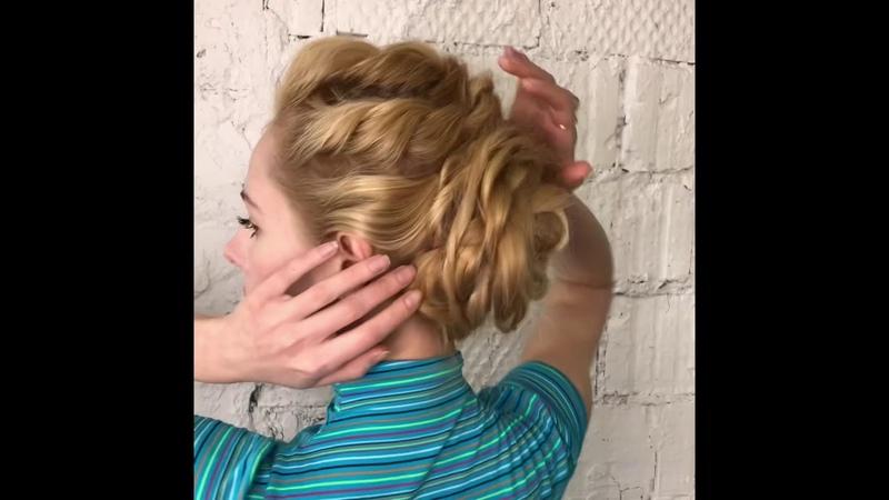Long Hair Style Elegant Lady Look Прически на длинные волосы