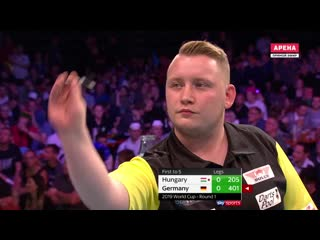 Hungary vs Germany (PDC World Cup of Darts 2019 / Round 1)