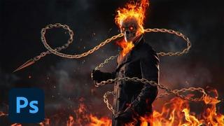 Ghost Rider - Photo manipulation Tutorial