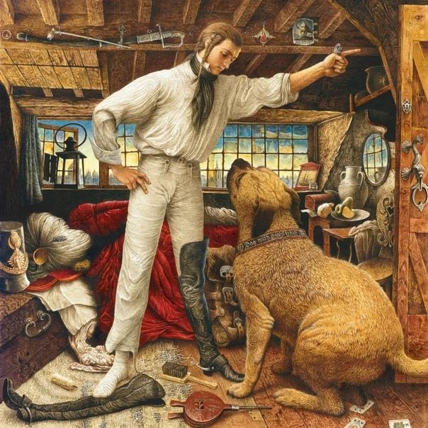 В иллюстрации Владислава Ерко малыши влюбляются с первого взгляда