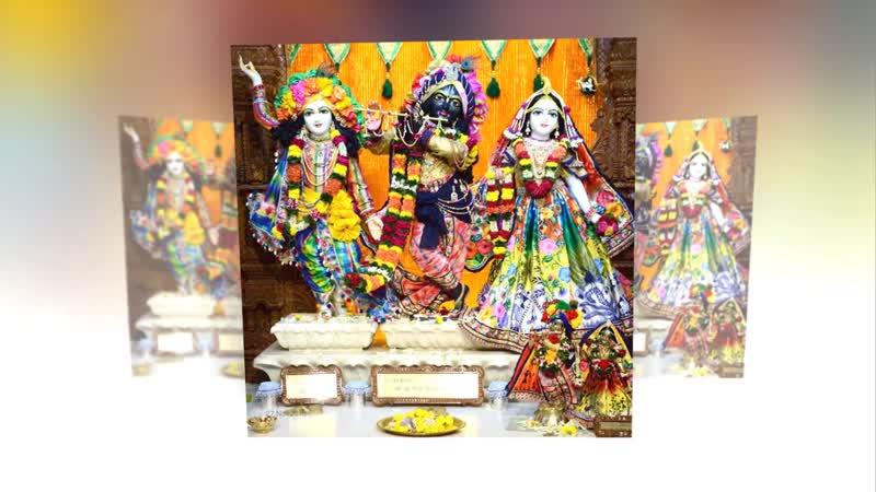 ISKCON Global Deity Darshan Фото Божеств