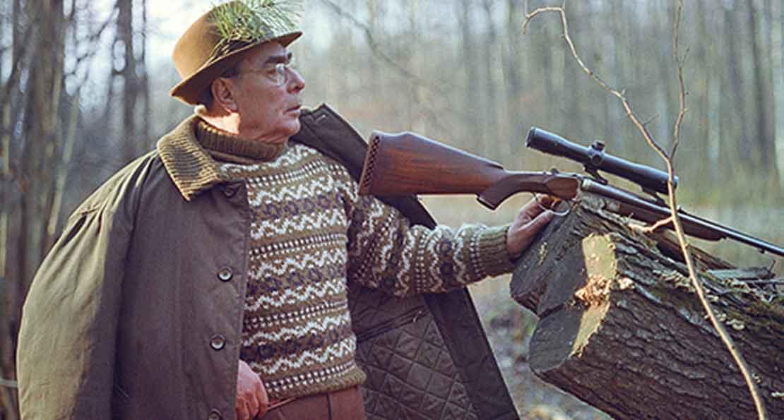 Брежнев на охоте