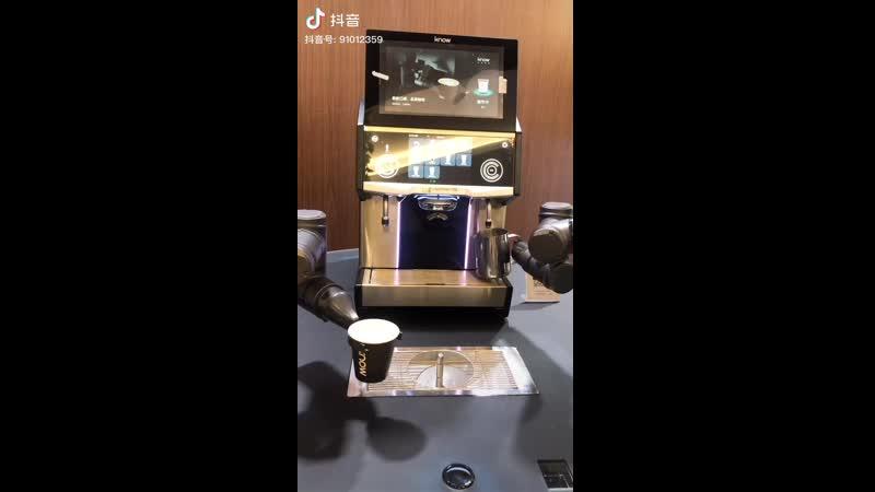 Китайский робот барист