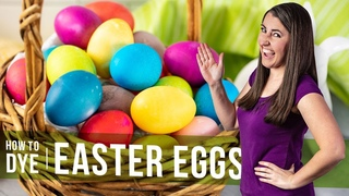 How to Dye Easter Eggs with Food Coloring or Natural Colors