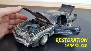 Restoration Abandoned Camaro z28