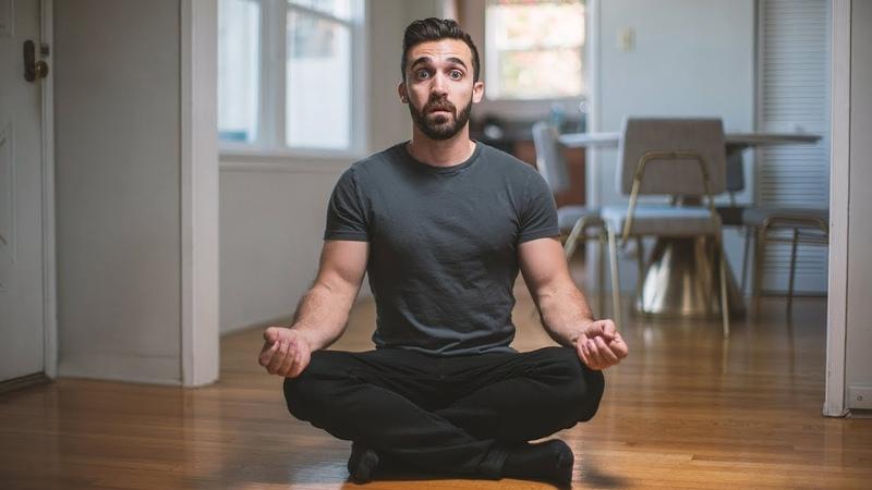 Я Медитировал по 1 ЧАСУ в день МЕСЯЦ подряд Мэтт Д'Авелла Перевод KRAMARTY TV
