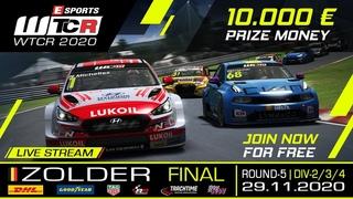 RaceRoom | Esports WTCR 2020 | R5/Div 2-3-4 ZOLDER