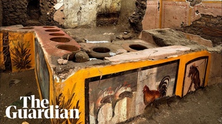 Ancient fast-food counter unearthed in Pompeii
