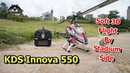 KDS Innova 550 3D RC helicopter Soft 3D Aerobatics By Stadium Side