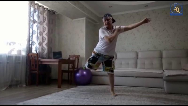 Кафедра физического воспитания КГМА проводит онлайн уроки по танцевальному фитнесу