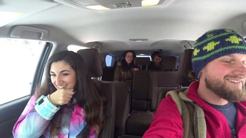 Зимняя Ауадхара Рица Абхазия Снежный ОФФроад Toyota Fortuner 22 11 2020