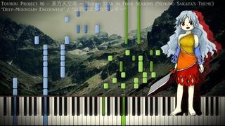 Piano Cover Touhou 16 - Deep-Mountain Encounter