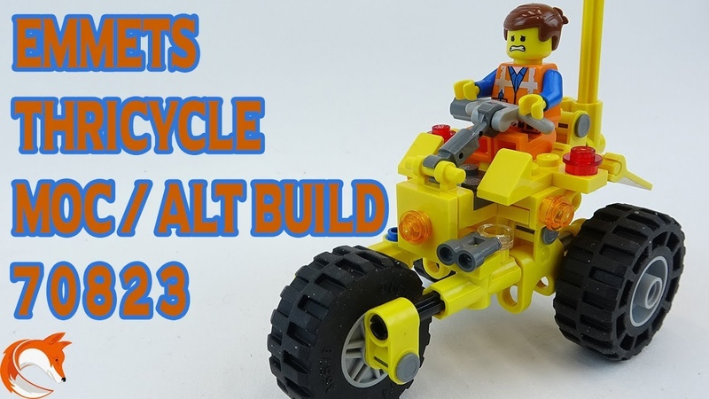 LEGO 70823 MOC Emmets Thricycle Alternative Build Review
