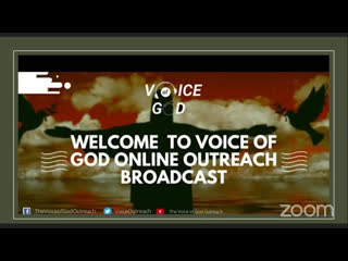 JOIN US ONLINE FOR | THE VOICE OF GOD OUTREACH | SATURDAY SEPT, 26TH 2020 | FROM 12MIDNIGHT -12:45AM
