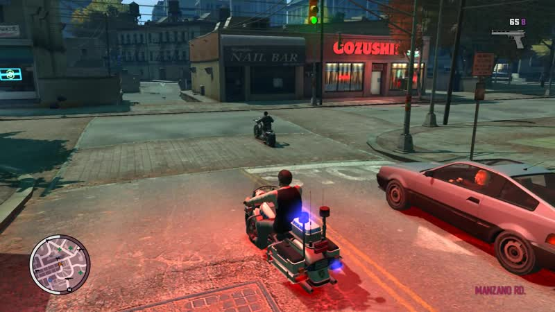 Police Bike GTA TBOGT