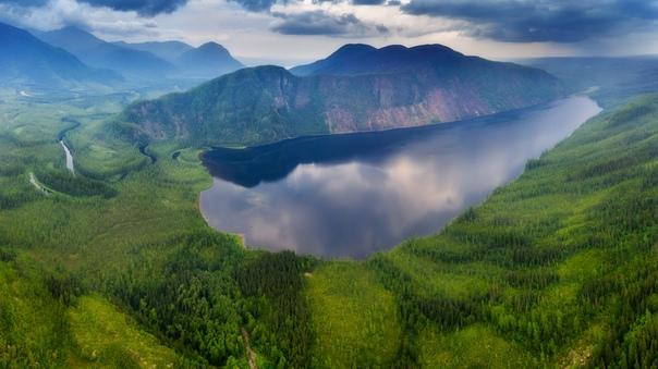 Озеро Малое Токо, граница Якутии и Хабаровского края.