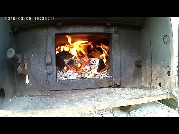все горит все полыхает армейская полевая кухня