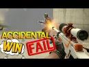 CS:GO - Accidental WIN / FAIL