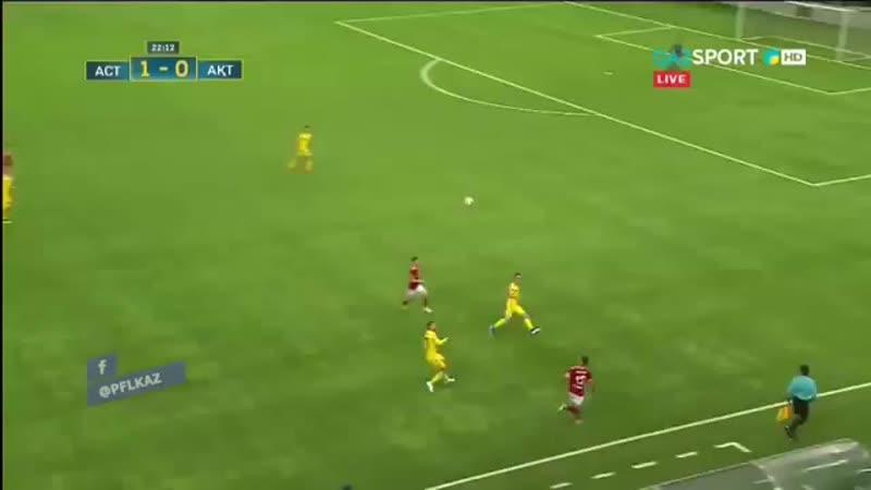 Марин Томасовтың матчтағы голы, Астана 5-0 Ақтөбе