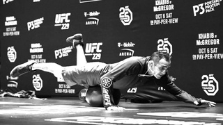 Tony Ferguson Training For Charles Oliveira UFC 256 Highlights