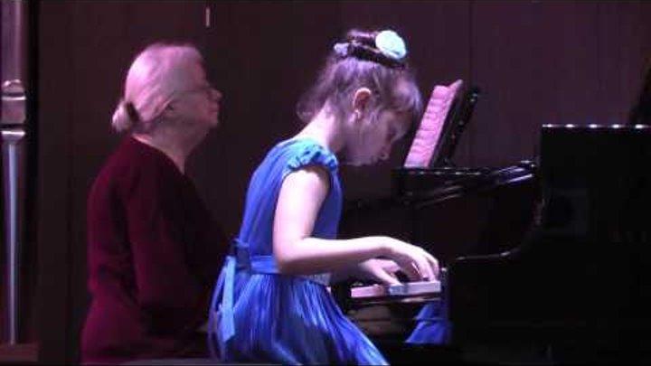 Г Гендель Концерт для ф но с оркестром исполняет Елизавета Бурякова