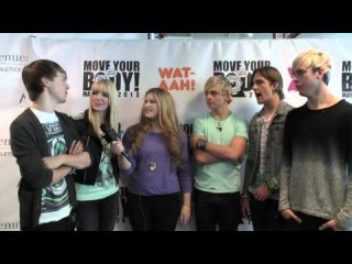 Interview with R5 at the WAT-AAH event in NYC (ChelseasChannel)