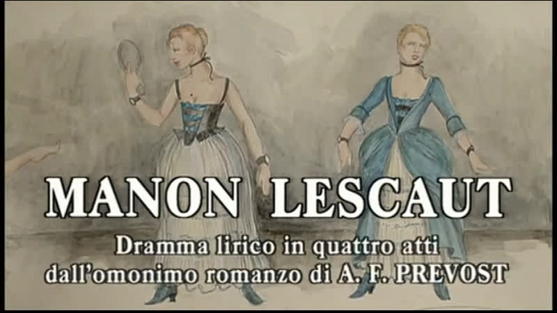 Manon Lescaut Guleghina Cura Muti Teatro alla Scala 1998