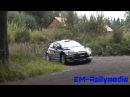 Rally Finland 2013 Novikov's mistake @ Ruuhimäki Shakedown