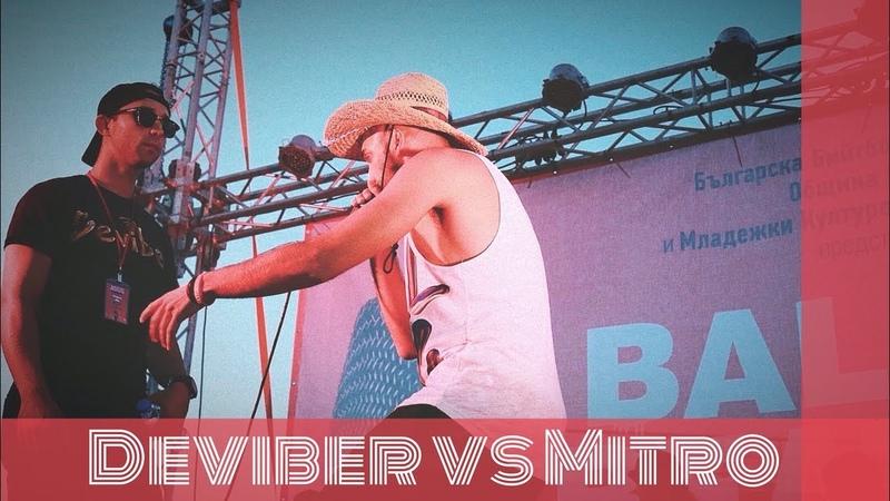 Deviber vs Mitro Balkan Beatbox Championship 2018