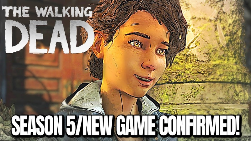 The Walking Dead Season 5 NEW TWD GAMES Confirmed Skybound Games