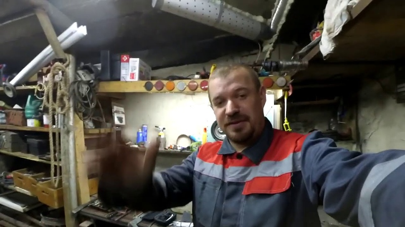 Доработки в гараж Печка Вентиляция
