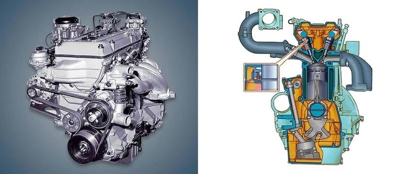 Долговечный двигатель ЗМЗ (ZMZ) с конструктивно простым ГРМ., изображение №7